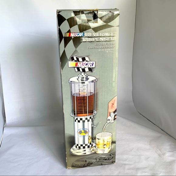 NASCAR beverage gas dispenser NEW IN BOX